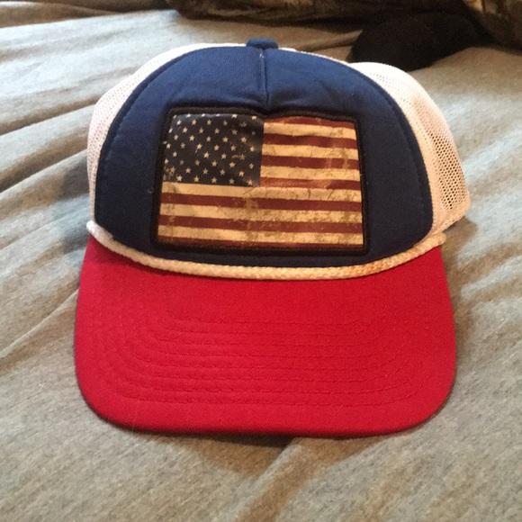 Cabela's American flag SnapBack 2cee24de69b